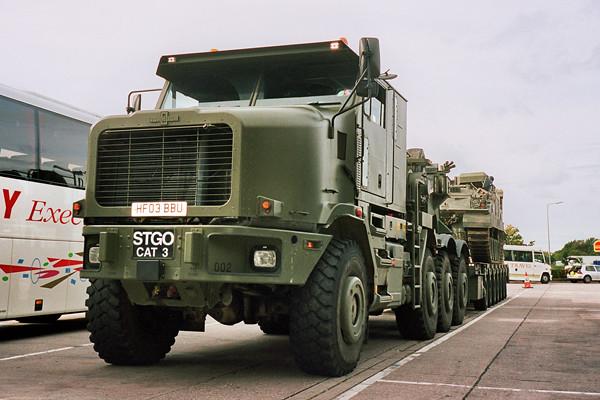 Oshkosh 1070f British Army Tank Transporter Flickr