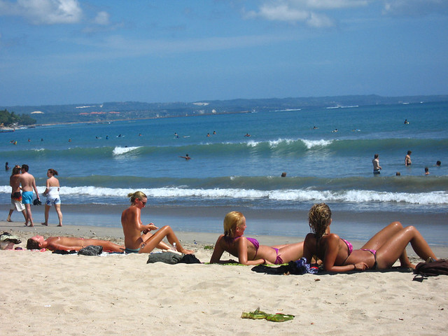 Kuta Topless Beach
