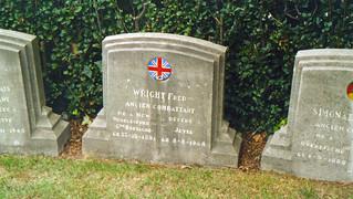 Cimetière de Jette - Fred Wright