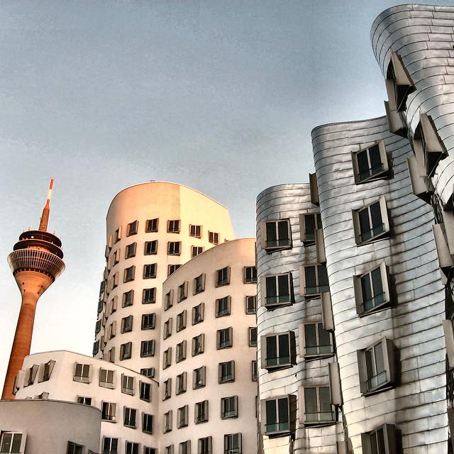Gehry, Medienhafen, Duesseldorf