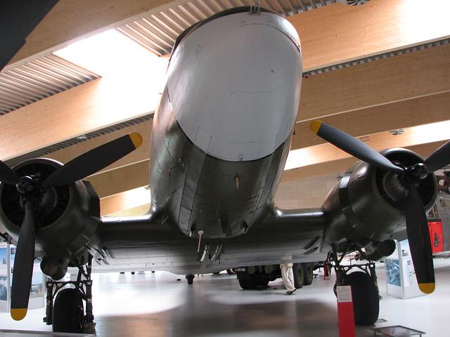 Front: C-47A Skytrain