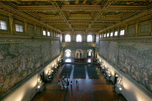 Palazzo Vecchio : Salone Cinquecento