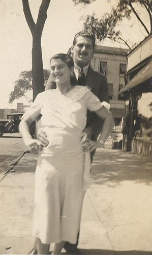 My Grandparents, Summit, NJ, 1931