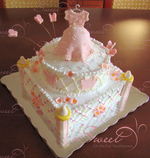 pastel baby shower vestido embarazada flickr photo sharing