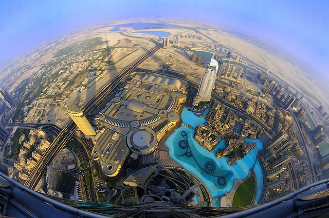 Burj al Khalifa Top View View From Burj Khalifa by