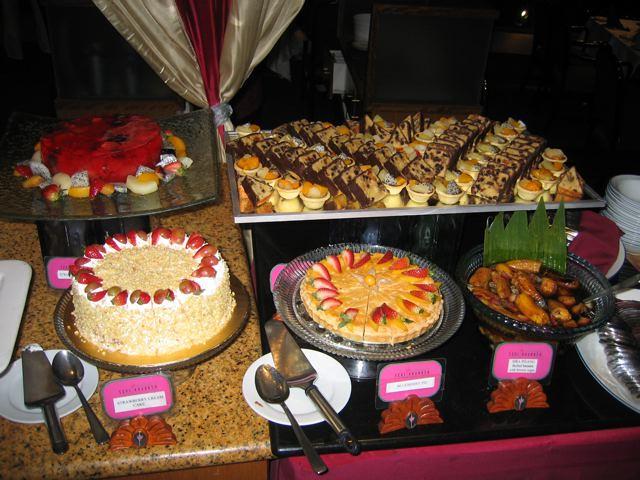Dessert Buffet in Revolving restaurant in KL Tower, Kuala ...