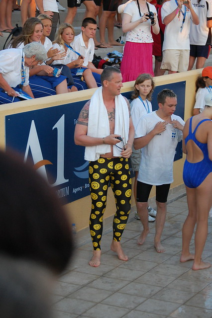 Fancy pants at the Rhodes 2007 Island Games