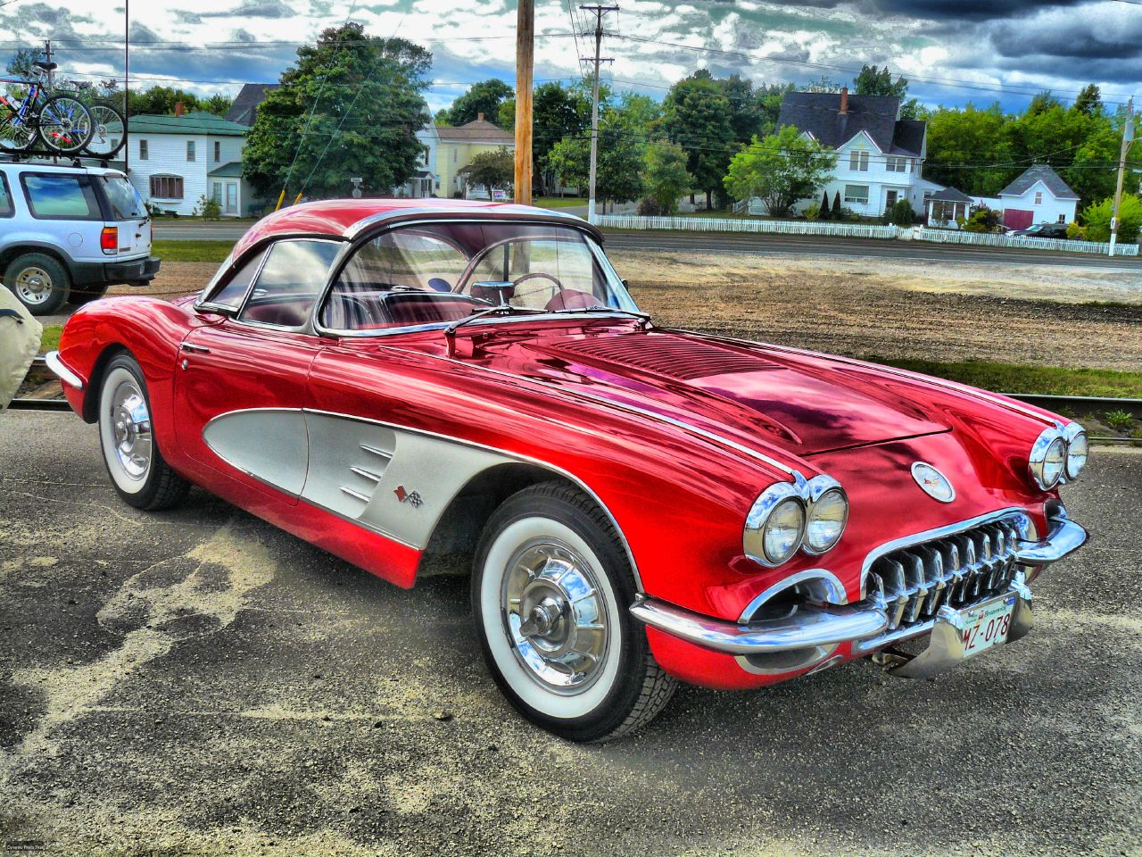 1958 corvette hdr a photo on flickriver for Classic and american cars for sale