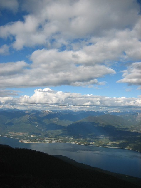 View of Upper Arrow Lake and Nakusp