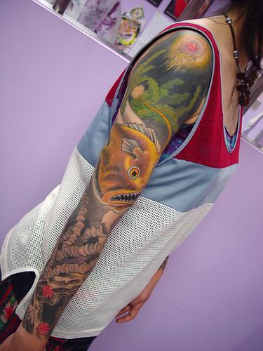 r34nk tattoo deep sea tattoo. Black Bedroom Furniture Sets. Home Design Ideas