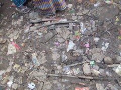 rubble, litter, waste,