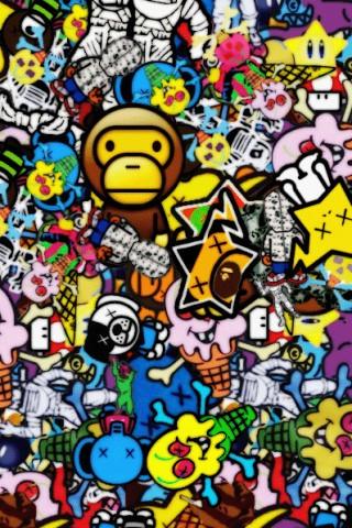 3171192669 757d6a4a34 jpgBape Logo