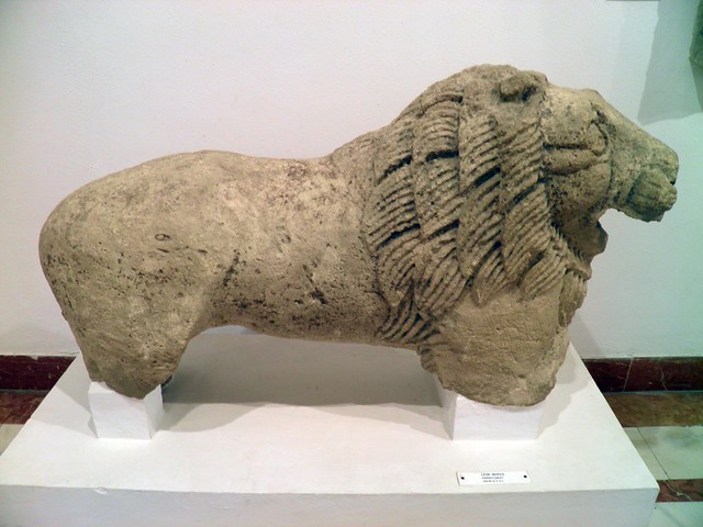 Funerary statue of a lion from Espera (Cadiz), Archaeological Museum, Seville