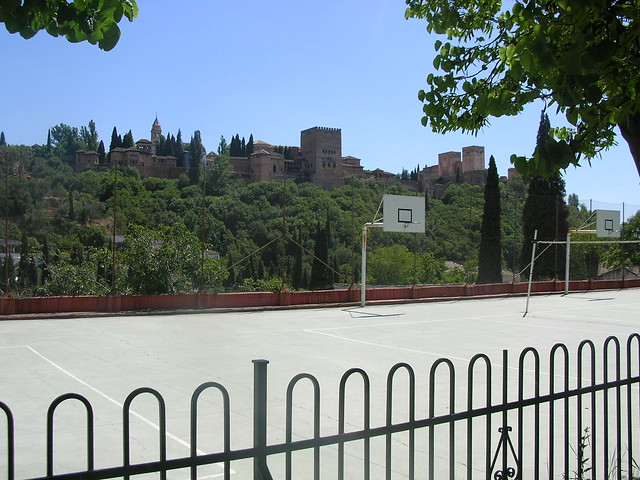 La alhambra yes from a high school basketball court flickr