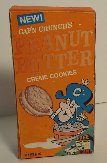 Cap'n Crunch Peanut Butter cookies box | Flickr - Photo Sharing!
