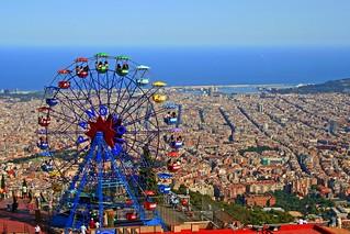 A Ride in Tibidado Amusement Park