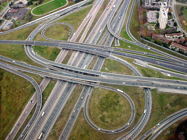 Highway 401/DVP Interchange