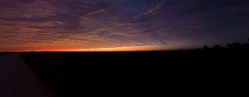sunset rural cornfield iowa d80 18200mmf3556