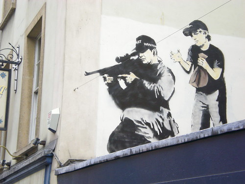 New Banksy piece!