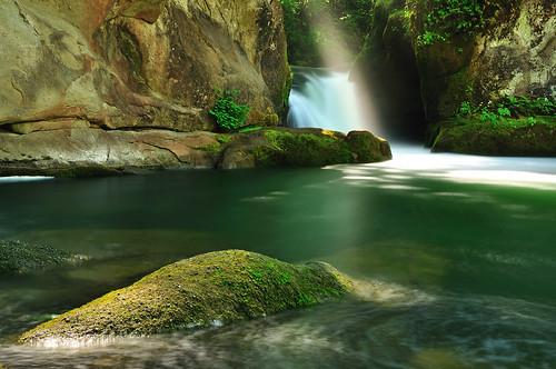 park county light green water sunshine creek waterfall washington moss spring rocks falls whirlpool bellingham wa whatcom ikonoki