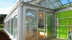 daylighting, orangery, glass, interior design, door, real estate, facade, home,
