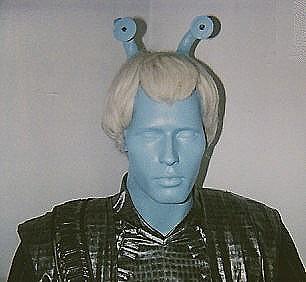 Andorian mannequin closeup