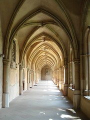 gothic architecture, symmetry, arch, building, architecture, vault, arcade, crypt,