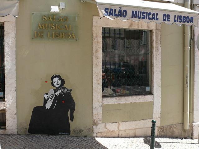 Jef Aérosol - Lisbon, August 2007 - Amalia Rodrigues