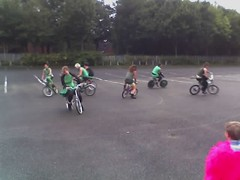 training wheels(0.0), stunt(0.0), recumbent bicycle(0.0), endurance sports(1.0), bicycle motocross(1.0), vehicle(1.0), freestyle bmx(1.0), cycle sport(1.0),