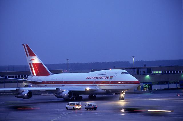 Vintage Air Mauritius 747SP