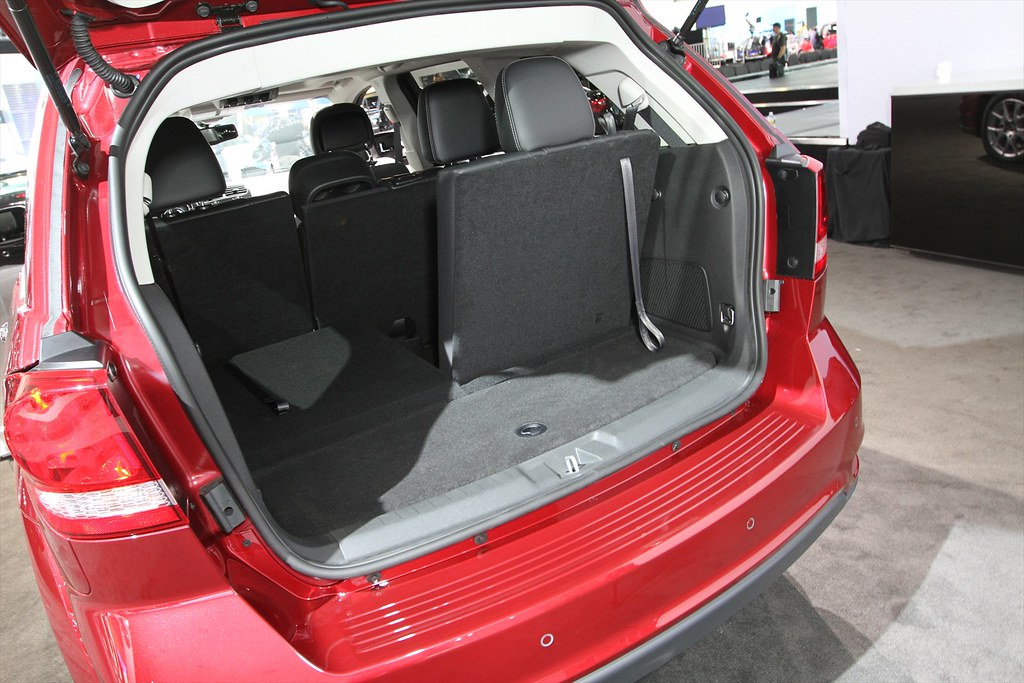 2011 dodge journey third row seating a photo on flickriver. Black Bedroom Furniture Sets. Home Design Ideas