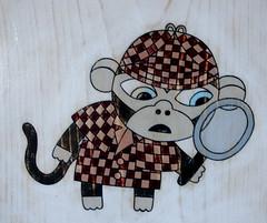 Sherlock Holmes Monkey by zoomar