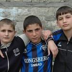 Boys in Lahic, Azerbaijan