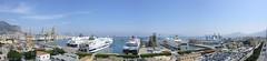 Palermo,panorama porto