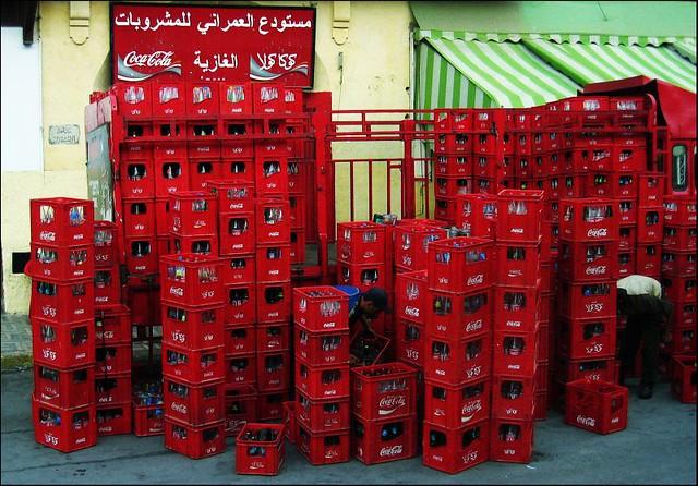 Cajas de Coca-Cola