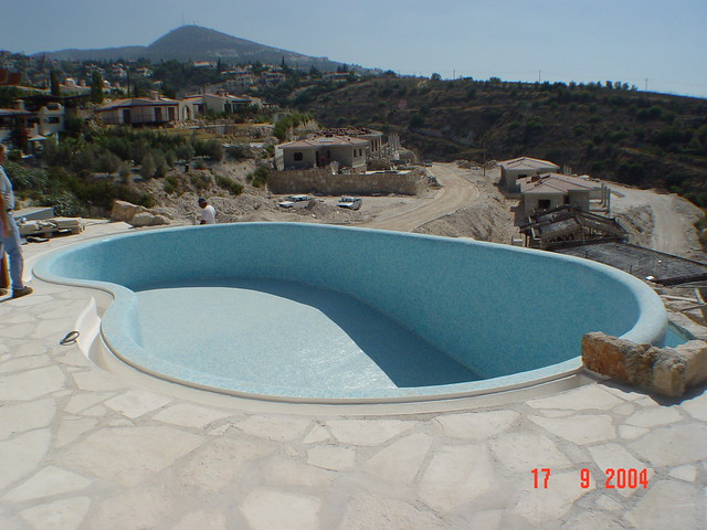 Cyprus Swimming Pool Construction Flickr Photo Sharing