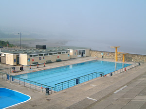 Flickriver lidos org uk 39 s most interesting photos - Open air swimming pool portishead ...