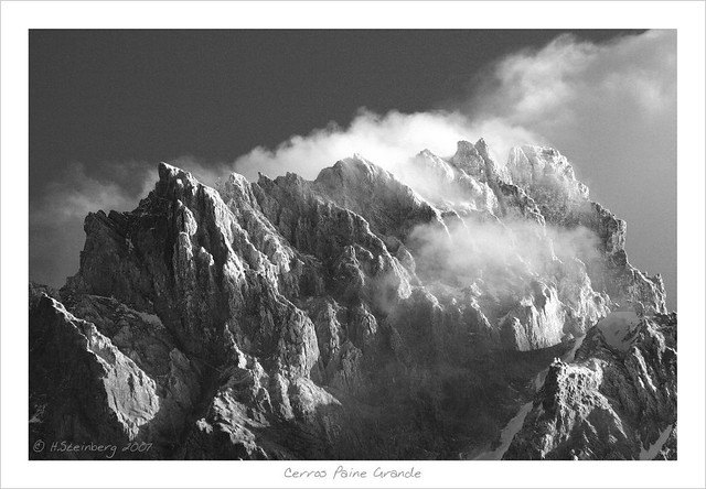 Cerro Paine Grande (a tribute to Ansel Adams)