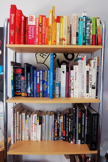 Rainbow Bookshelf Flickr Photo Sharing