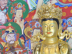 Dharma room Buddha