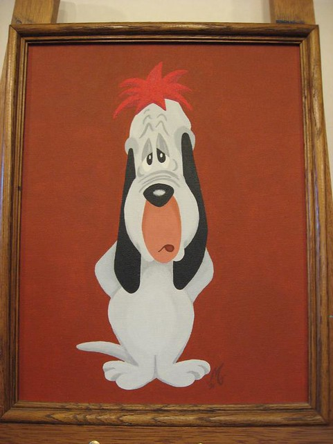 Droopy painting