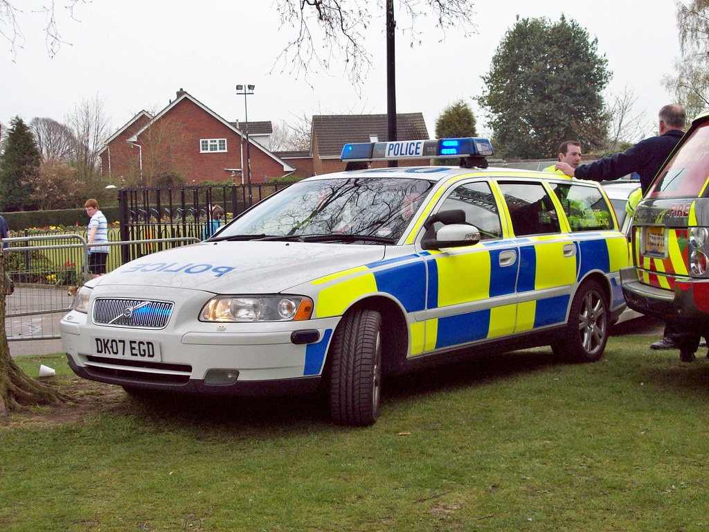 202 Volvo V70 Se T5 Police Car 2007 A Photo On Flickriver S70 Engine Diagram