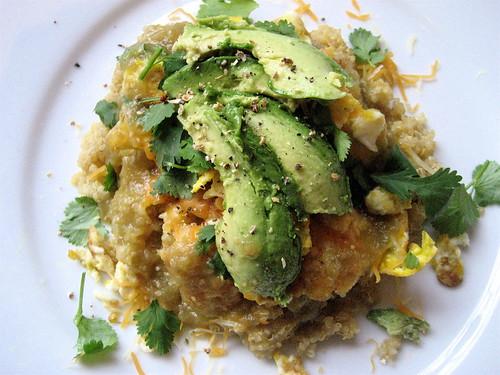 quinoa huevos rancheros