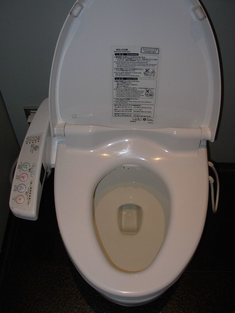Musical toilet with built in bidet explore einalem 39 s photo flickr photo sharing - Toilet with bidet built in ...