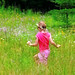 Small photo of Madel Bounding in Field