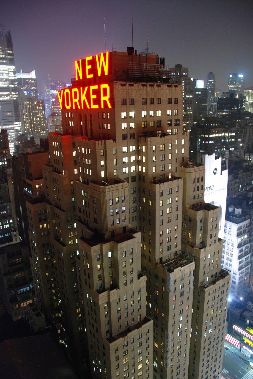 movimiento art deco hotel new yorker nueva york 1931. Black Bedroom Furniture Sets. Home Design Ideas