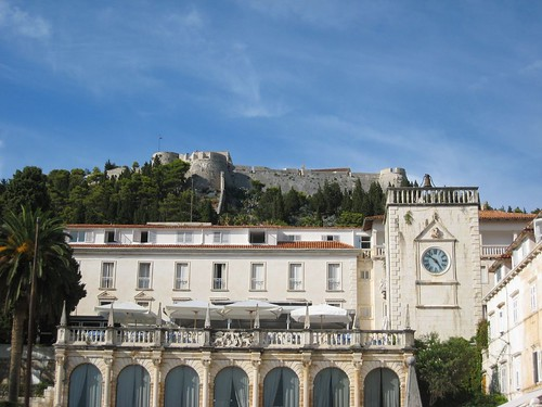 The old 16th century fortress on Hvar
