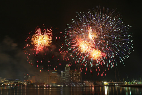 Singapore Fireworks Celebrations 2007 - Team Spain #6