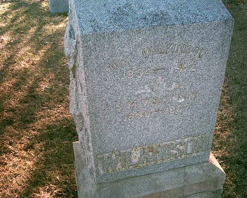 illinois union hobby biography obituary civilwarveteran williamwilkinson tombstonephoto coc103rdillinfantry