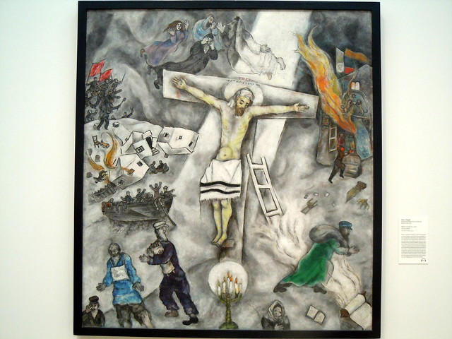 Marc Chagall White Crucifixion | Flickr - Photo Sharing! Marc Chagall White Crucifixion